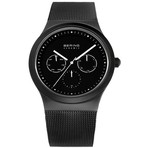 Bering Watches Black Ceramic Mesh 32139-302
