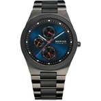 Bering Watches Black/Blue Ceramic 32339-788