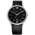 Bering Watches Black Crocadile Leather 11139-409