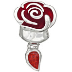Chamilia Disney Belle's Enchanted Rose Bead
