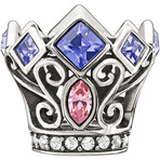 Chamilia  Disney Princess Royal Crown Bead