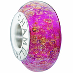 Chamilia All That Glitters Collection- Dark Pink Bead