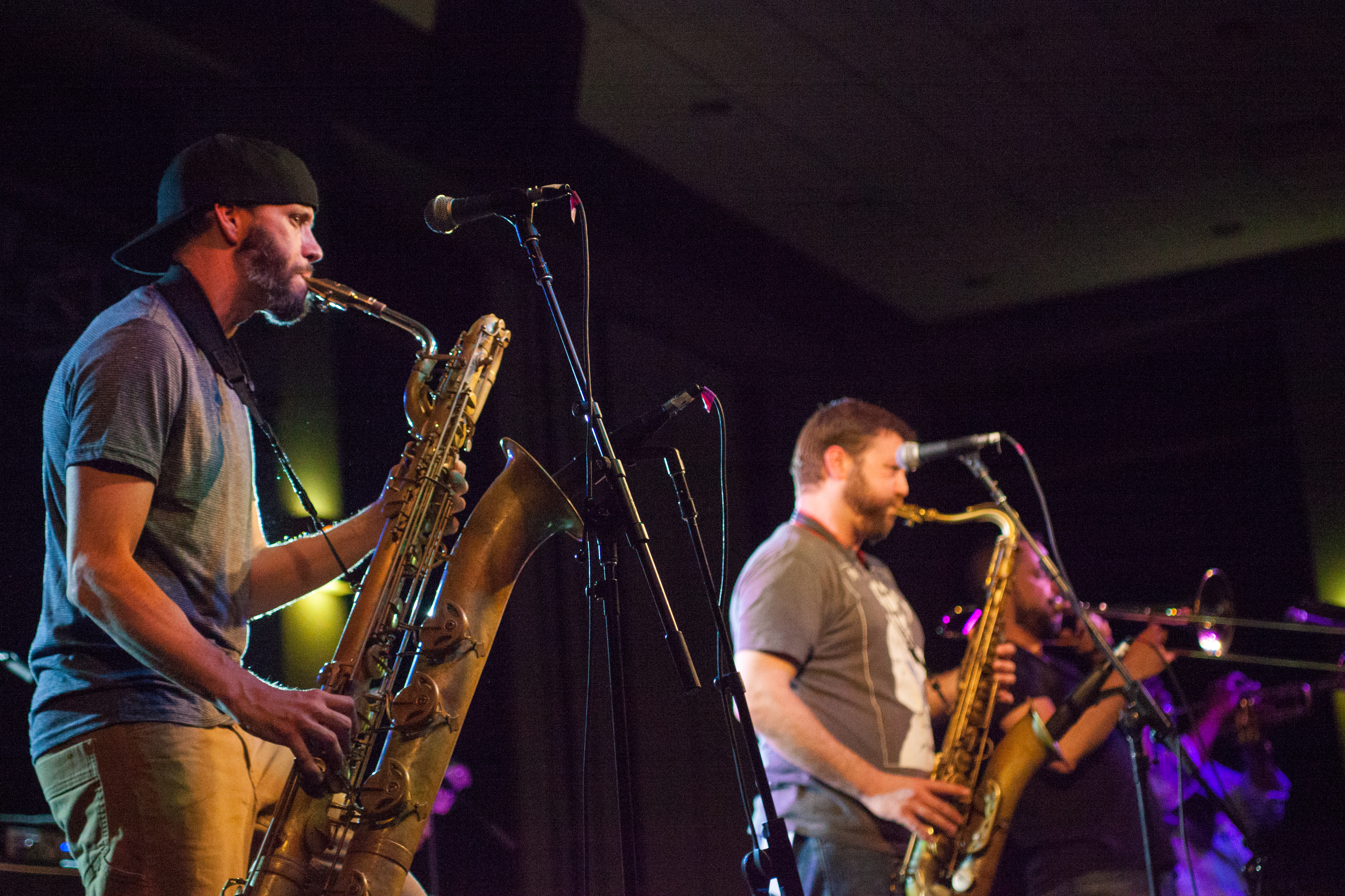 The band played for a little over an hour. Streetlight Manifesto is from New Brunswick, New Jersey and one of its first headlining shows was at Rutgers University. KRYSTEN MASSA / THE STATESMAN