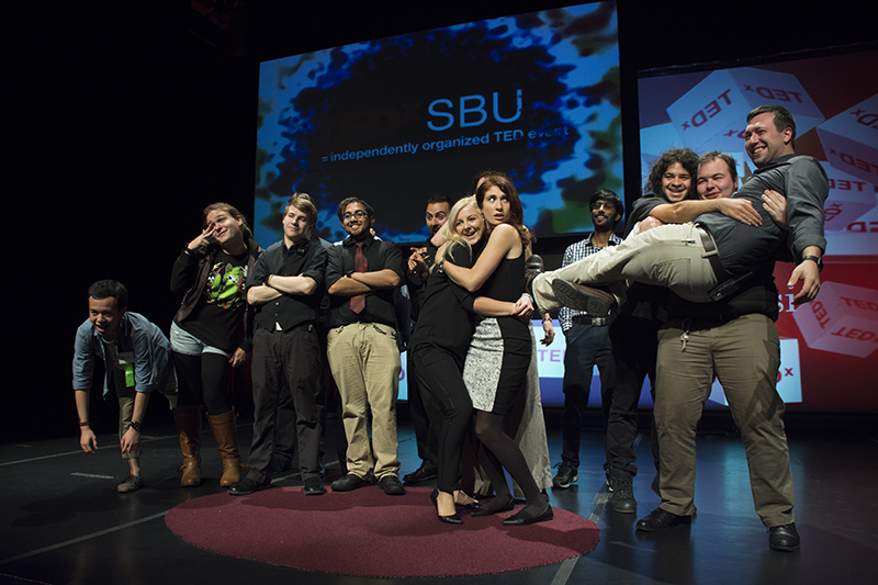 Stony Brook University hosted the third annual TedxSBU conference on Friday, Nov. 9. MICHAELA KILGALLEN / THE STATESMAN