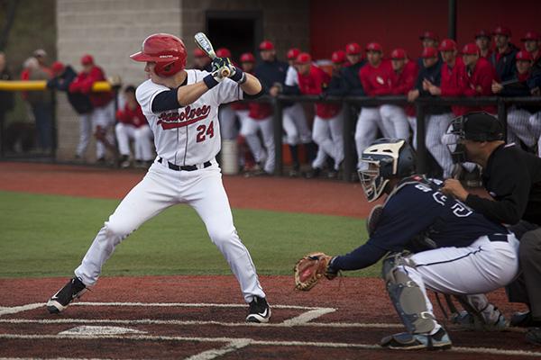 The Stony Brook University Baseball team is set to host. KRYSTEN MASSA/STATESMAN FILE