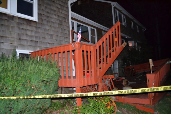 Collapsed Deck Courtesy of The Town of Brookhaven