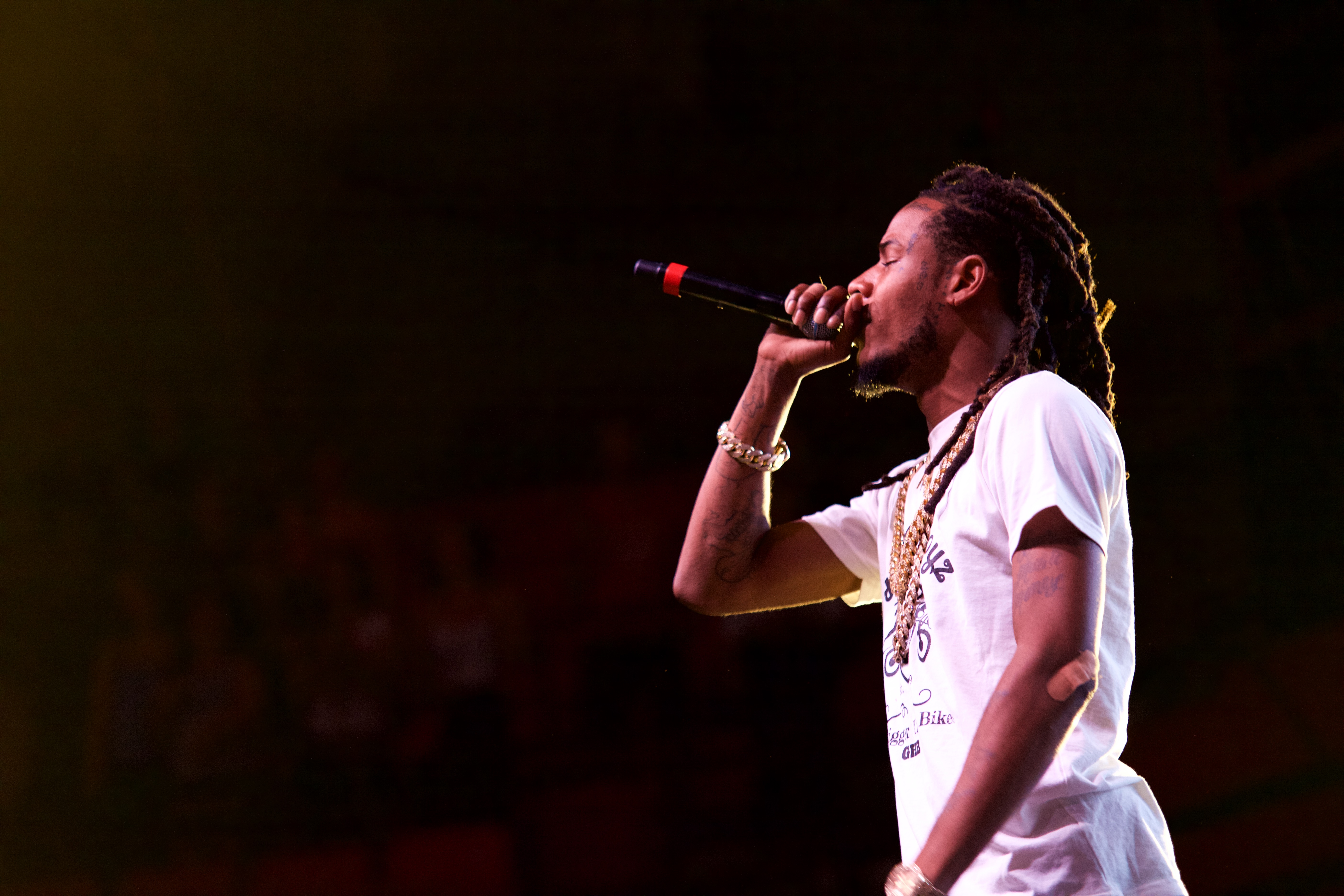 Willie Maxwell II, better known by his stage name Fetty Wap, headlined Back to the Brook on Sept. 12, 2016. ARACELY JIMENEZ/THE STATESMAN
