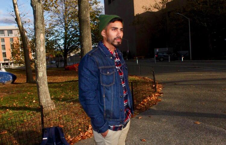 Matthew Afzali, graduate student. RAWSON JAHAN/THE STATESMAN