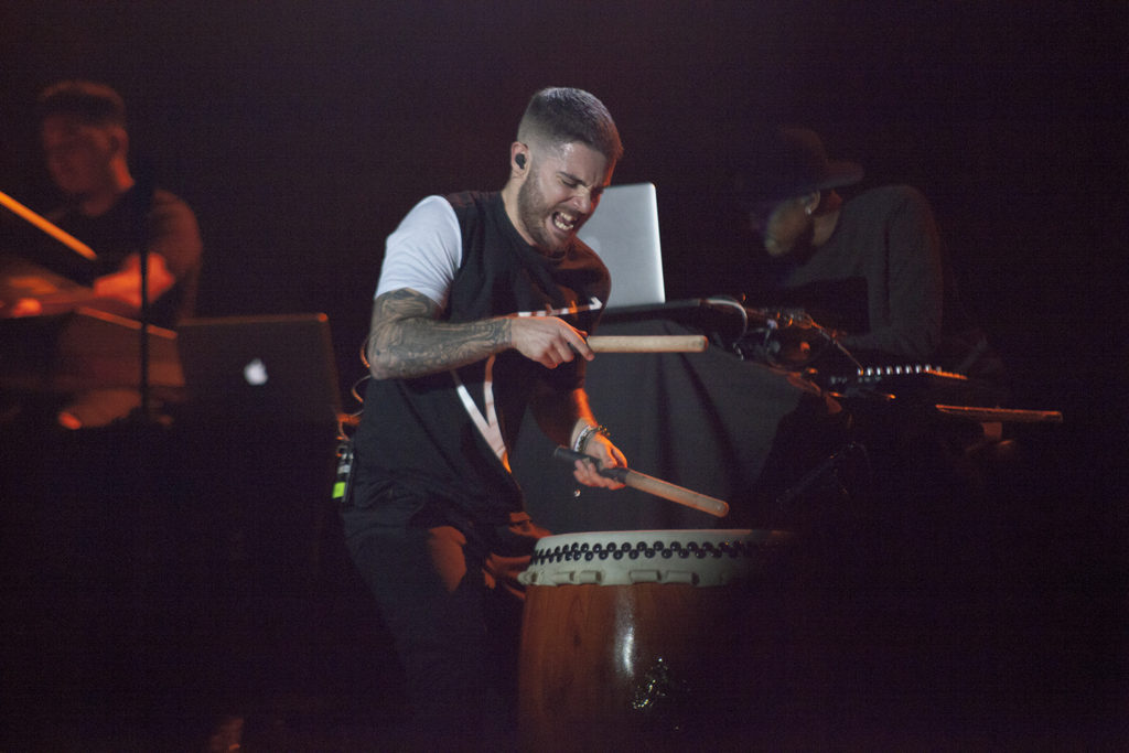 Jon Bellion, a Long Island native, performed at The Paramount in Huntington on Thursday night. /THE STATESMAN