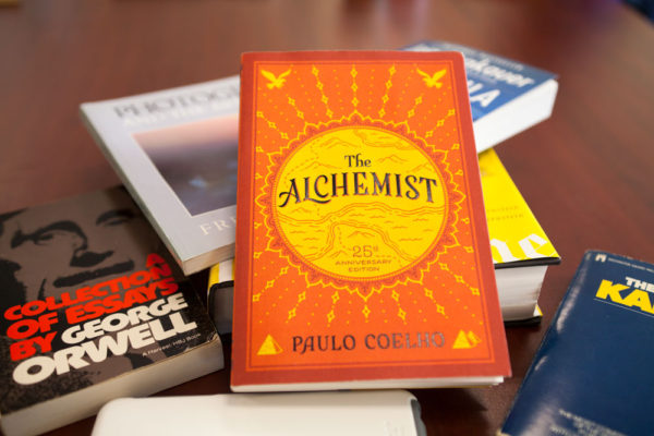 The Alchemist by Paulo Coelho has sold more than 150 million copies, won 115 international awards and prizes and has been translated to more than 80 languages. ERIC SCHMID/THE STATESMAN