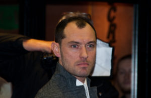 "Jude Law in 2013. He plays a 47-year-old pope in the show ""The Young Pope."" PHOTO CREDIT: CHRISTOPHER WILLIAM ADACH/FLICKR VIA CC BY-SA 2.0"