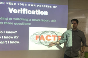 News literacy taught by ANNA CORREA/THE STATESMAN