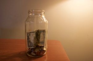 Making a change jar is just one of many ways a student can save money. ARACELY JIMENEZ/THE STATESMAN