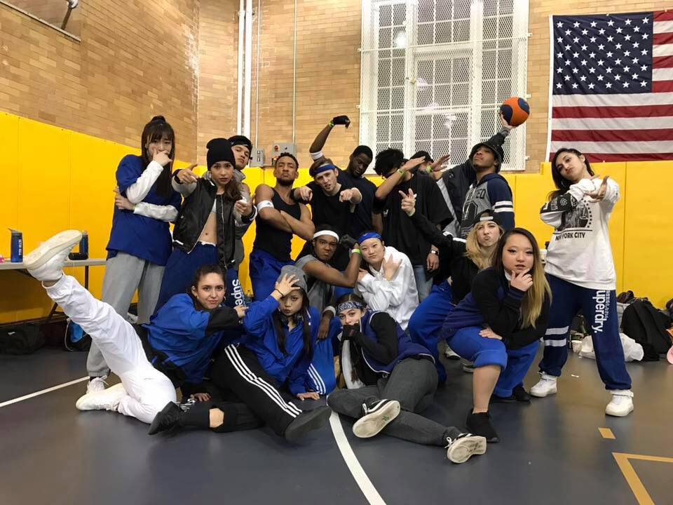 The Neighbors, pictured above, is a New York City based hi-hop dance team. The Neighbors competed in Stony Brook University PUSO's dance competition and won first place. COURTESY OF THE NEIGHBORS