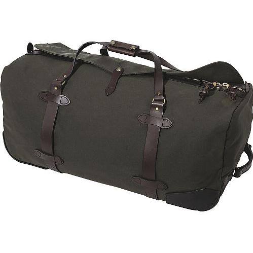 Filson Large Wheeled Duffle Bag Otter Green