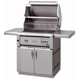 Luxor Gas Grills 30 Inch All Infrared Propane Gas Grill On Cart AHT-30F-LP
