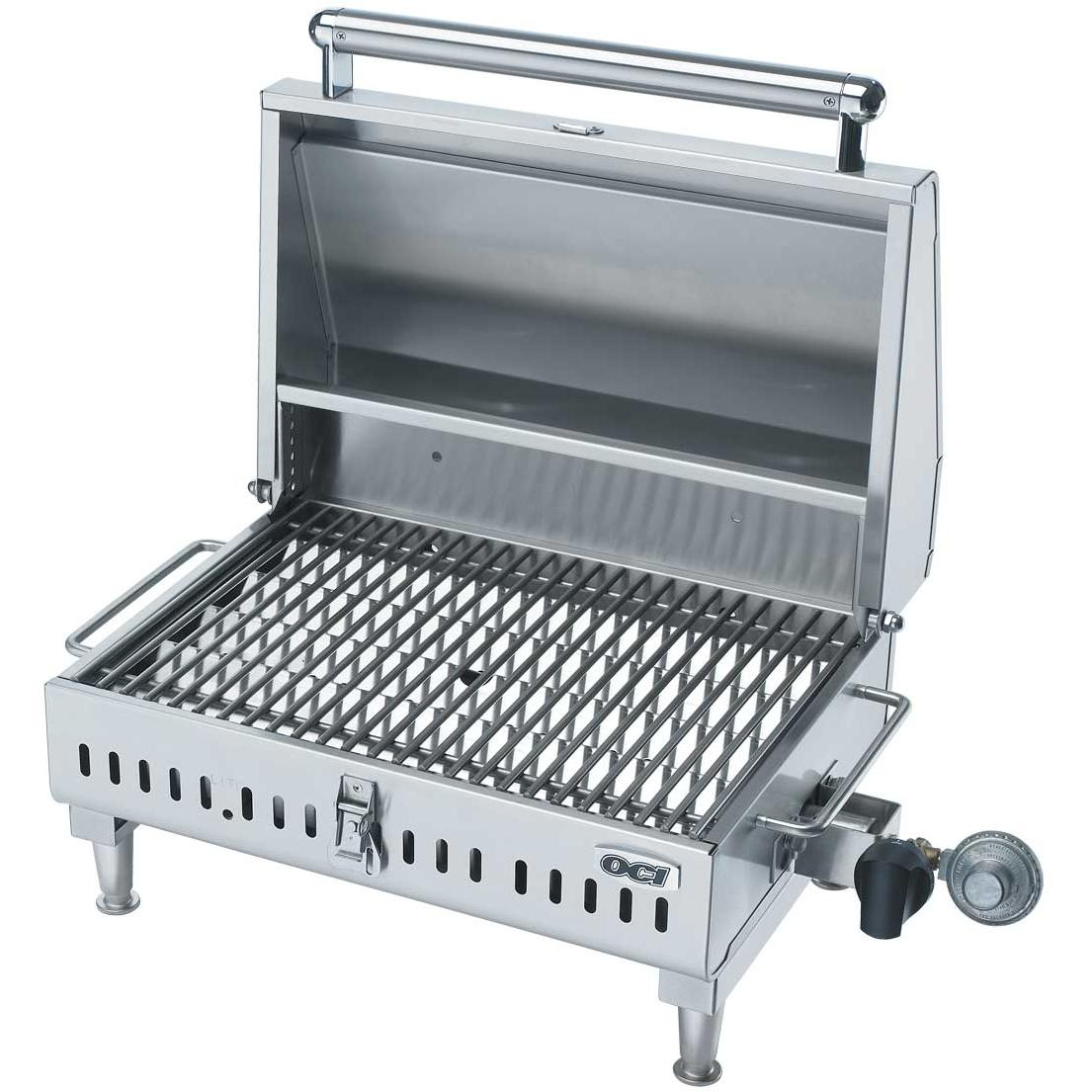 OCI Gas Grills Tabletop Travel Gas Grill   Propane