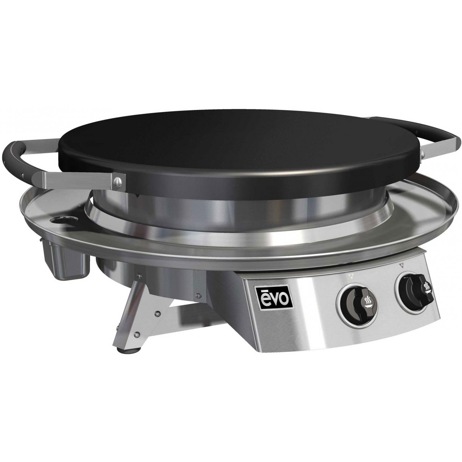 Evo Professional Classic Tabletop Flattop Grill - Natural Gas