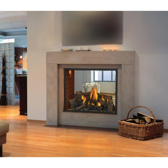 Napoleon HD81 Direct Vent Natural Gas See-Thru Fireplace