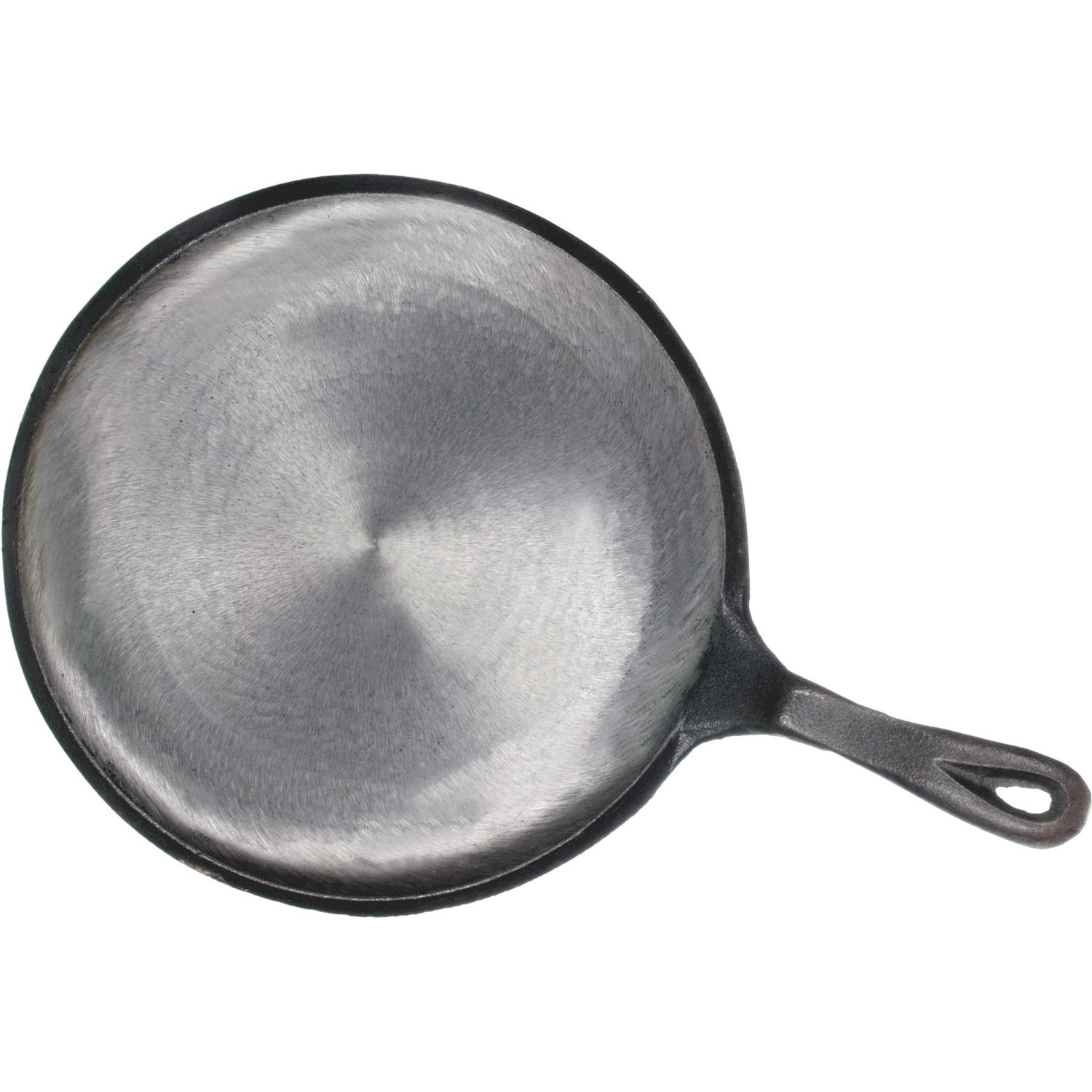 Cajun Cookware 10 Inch Round Seasoned Cast Iron Griddle