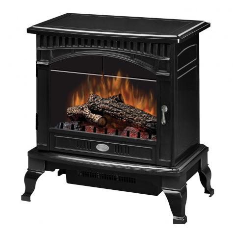 Dimplex 25-Inch Electric Stove - Standard Logs - Gloss Bl...