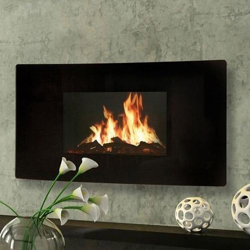 Amantii Vertical Wall Mounted Electric Fireplace Wm 1641
