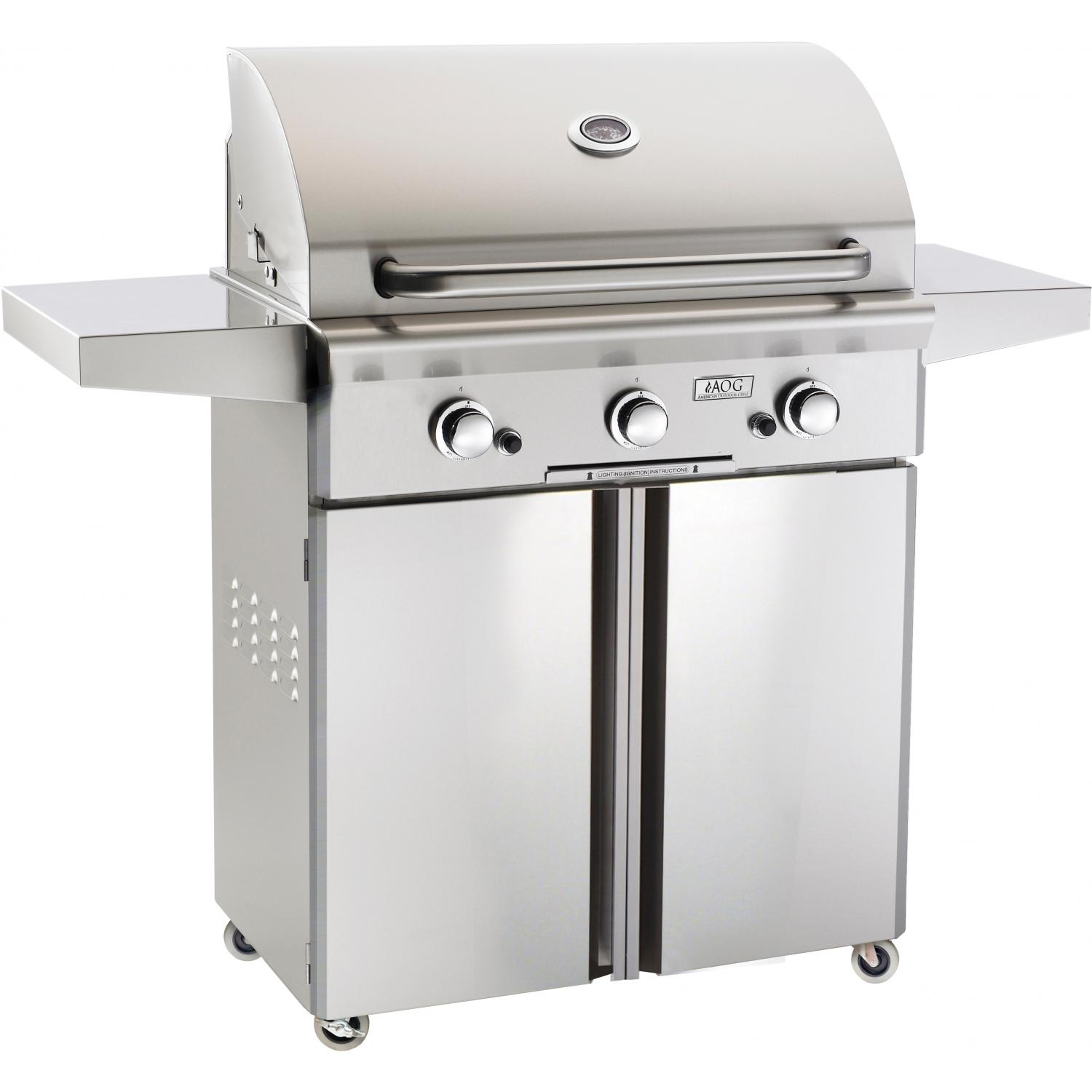 AOG American Outdoor Grill 30 Inch Natural Gas Grill On Cart at Sears.com