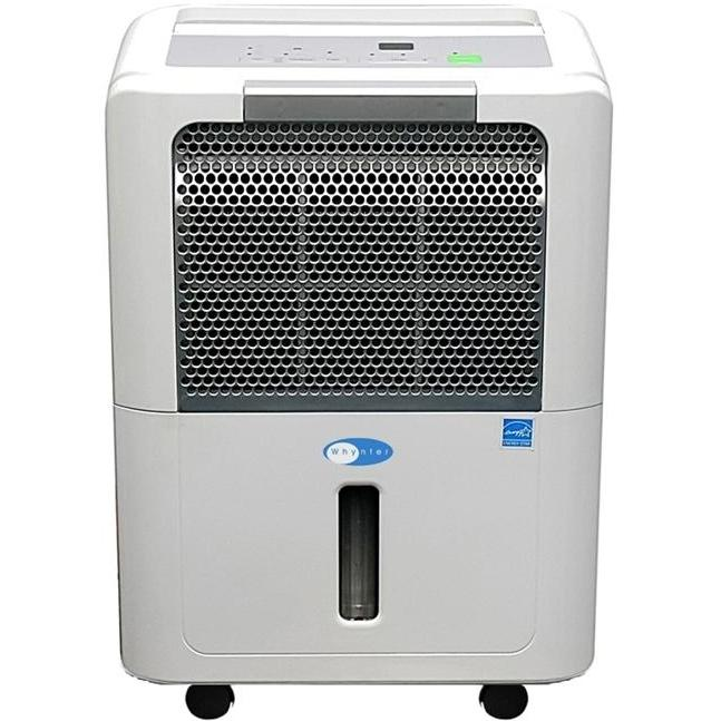 Whynter RPD-401W 40 Pint Energy Star Compliant Portable Dehumidifier - White