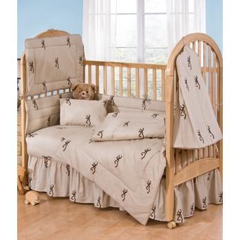 Browning Buckmark Brown Baby Blanket