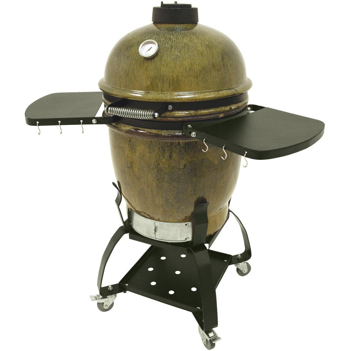Bayou Classic Ceramic Cypress Grill On Cart, Discount ID 500-515