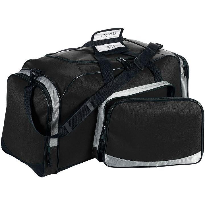 Augusta Multi-Purpose Active Sport Duffel - Black