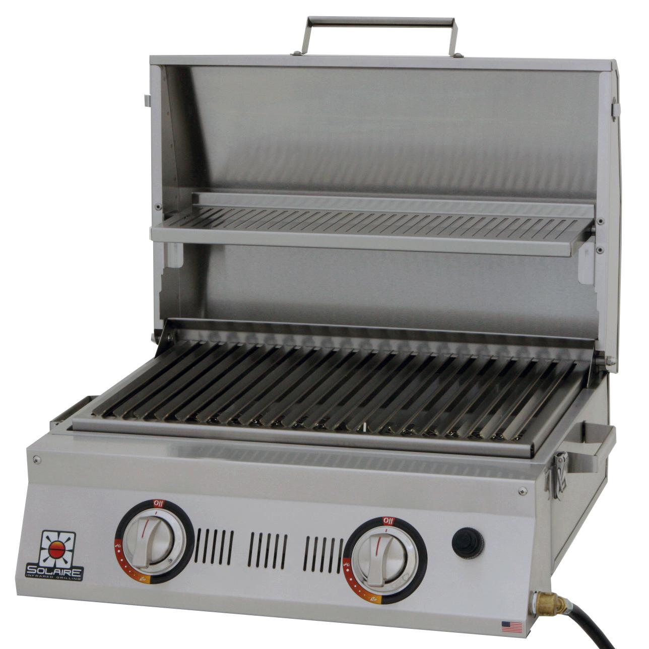 SOLAIRE AllAbout 2-Burner Portable Infrared Propane Gas G...