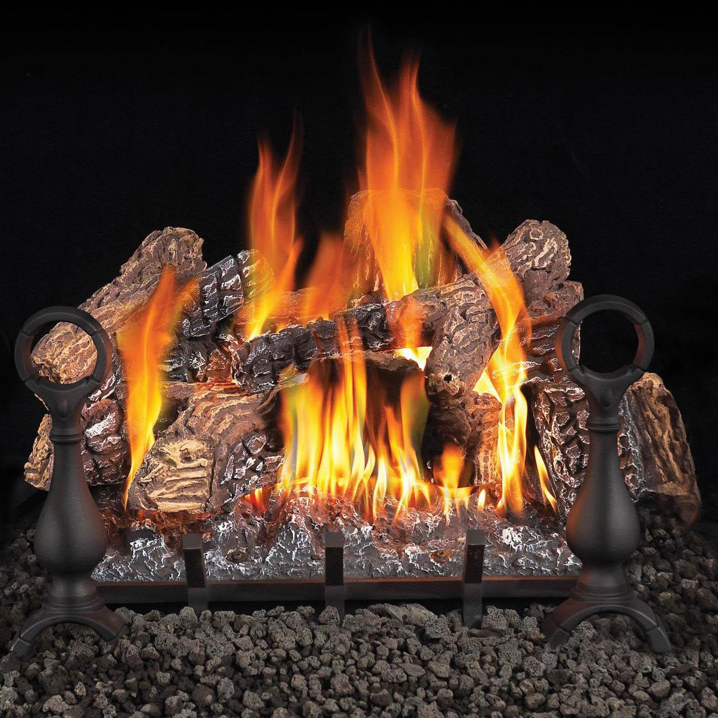 Napoleon 30-Inch FiberGlow Natural Gas Vented Gas Log Set...