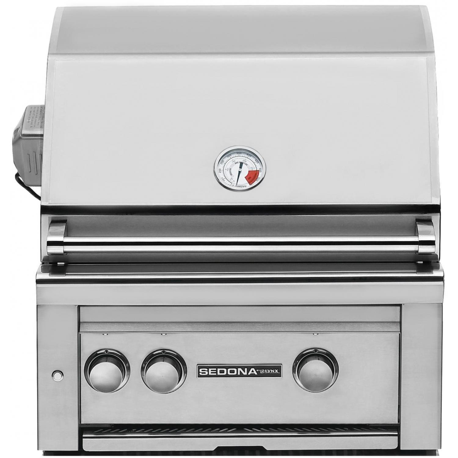 Sedona By Lynx 24-Inch Built-In Propane Gas Grill With ProSear Burner And Rotisserie L400PSR 2872222