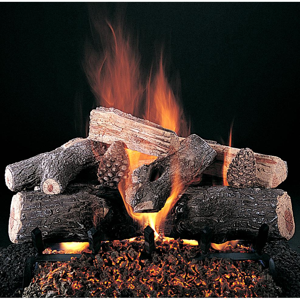 rasmussen 20 inch evening lone star gas log set logs only. Black Bedroom Furniture Sets. Home Design Ideas