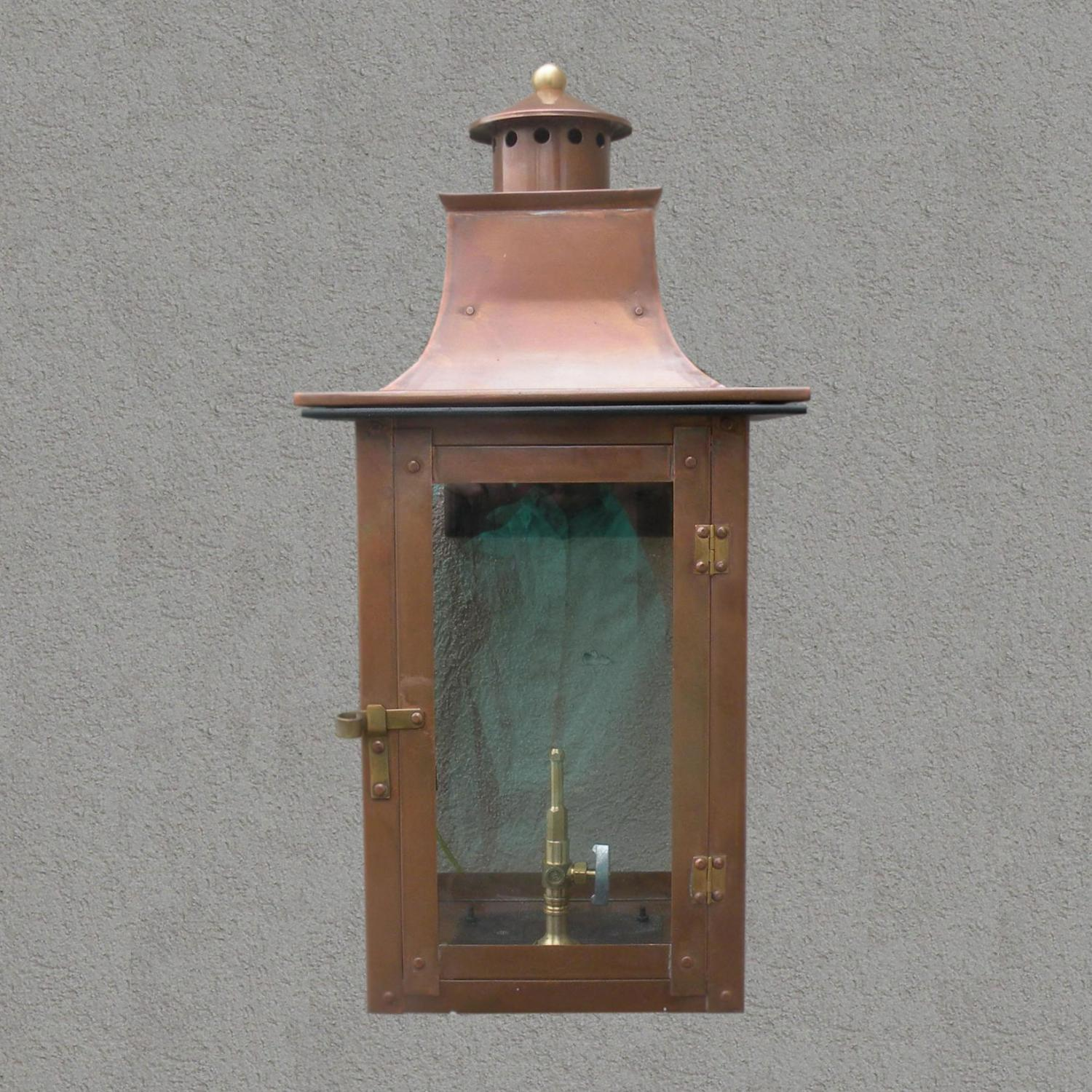 Regency Gl21 Faye Rue Small Propane Gas Light With Open Flame Burner And Manual Ignition On Wall Scroll Mount at Sears.com