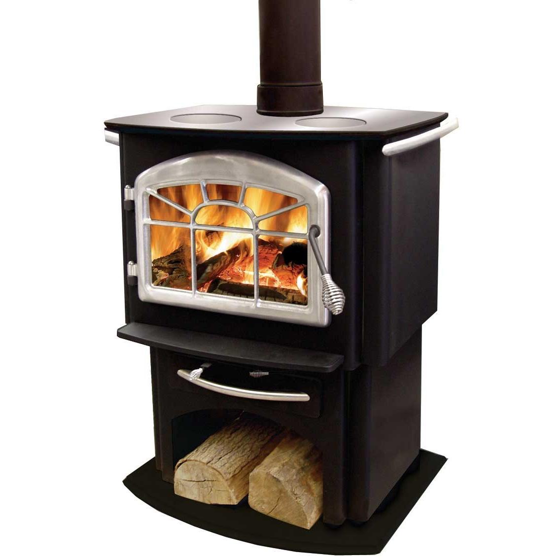 Napoleon 1150P Gourmet Wood Burning Cook Stove - Black