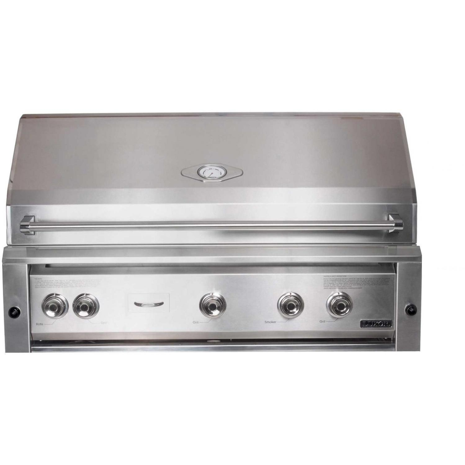 Luxor Gas Grills 42 Inch All Infrared Built-in Natural Gas Grill With Rotisserie AHT-42R-BI-NG