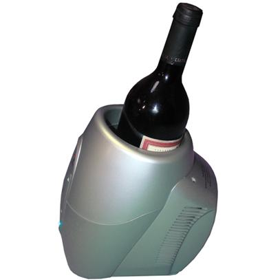 Vinotemp VT-CHILLER SLVR Single Bottle Wine Chiller / Warmer