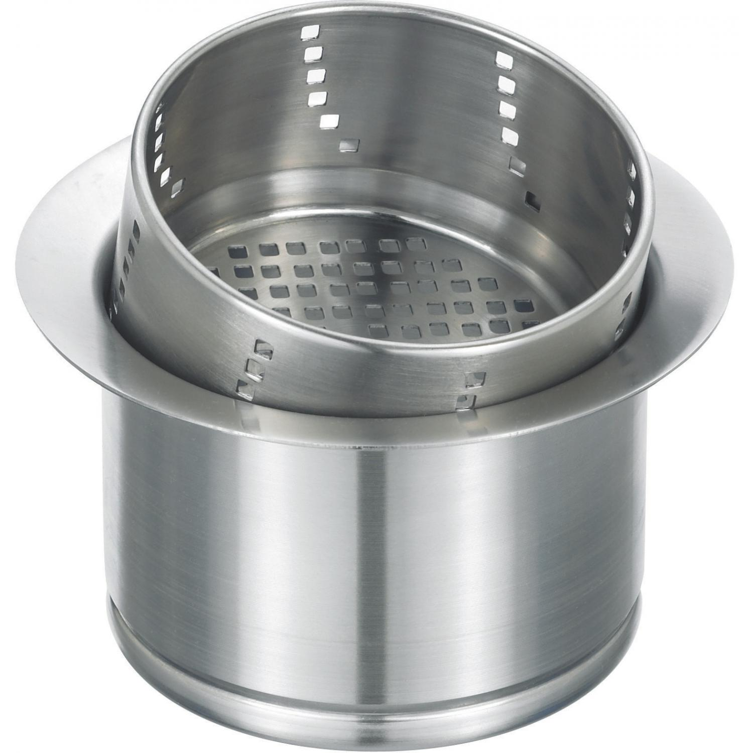 Blanco 3-In-1 Stainless Steel 3 1/2-Inch Disposal Flange - 441232
