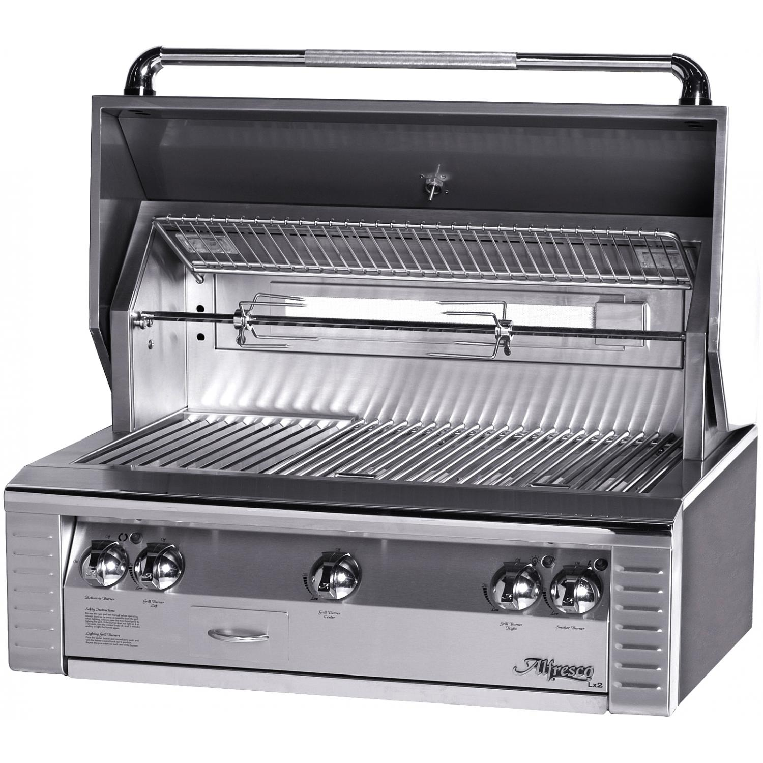 Alfresco Lx2 36-inch Built In Natural Gas Grill With Rotisserie at Sears.com