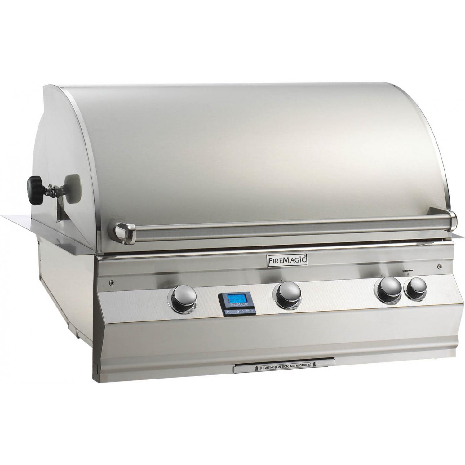 Fire Magic Aurora A790i All Infrared Built-In Natural Gas Grill With Rotisserie - A790i-6A1N 2894096
