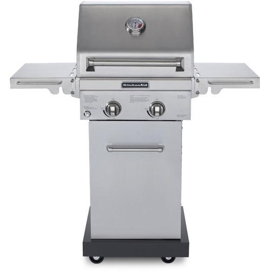 kitchenaid 20 inch 2 burner propane gas grill on cart