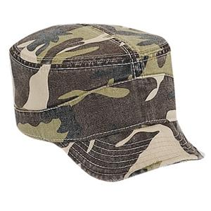 Otto Cap Camo Superior Garment Washed Cotton Twill Flexible Visor Military Style Cap - Camo Pattern 4, Discount ID 112-785-CP004