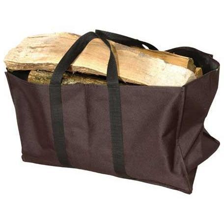 UniFlame Black Canvas Log Tote Bag