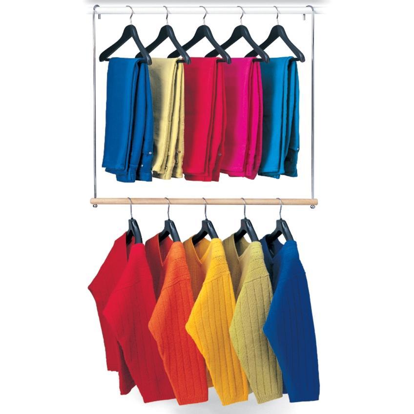 Lynk Double Hang Closet Rod - 143020DS