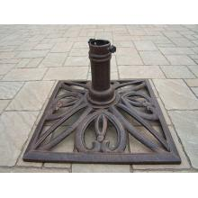 Dc America UB14181-BR Square Cast Stone Umbrella Base - Bronze