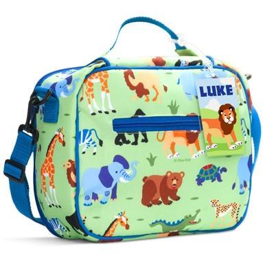 Olive Kids Lunch Bag - Wild Animals
