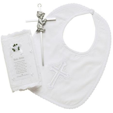 Elegant Baby Christening Gift Set-Boy