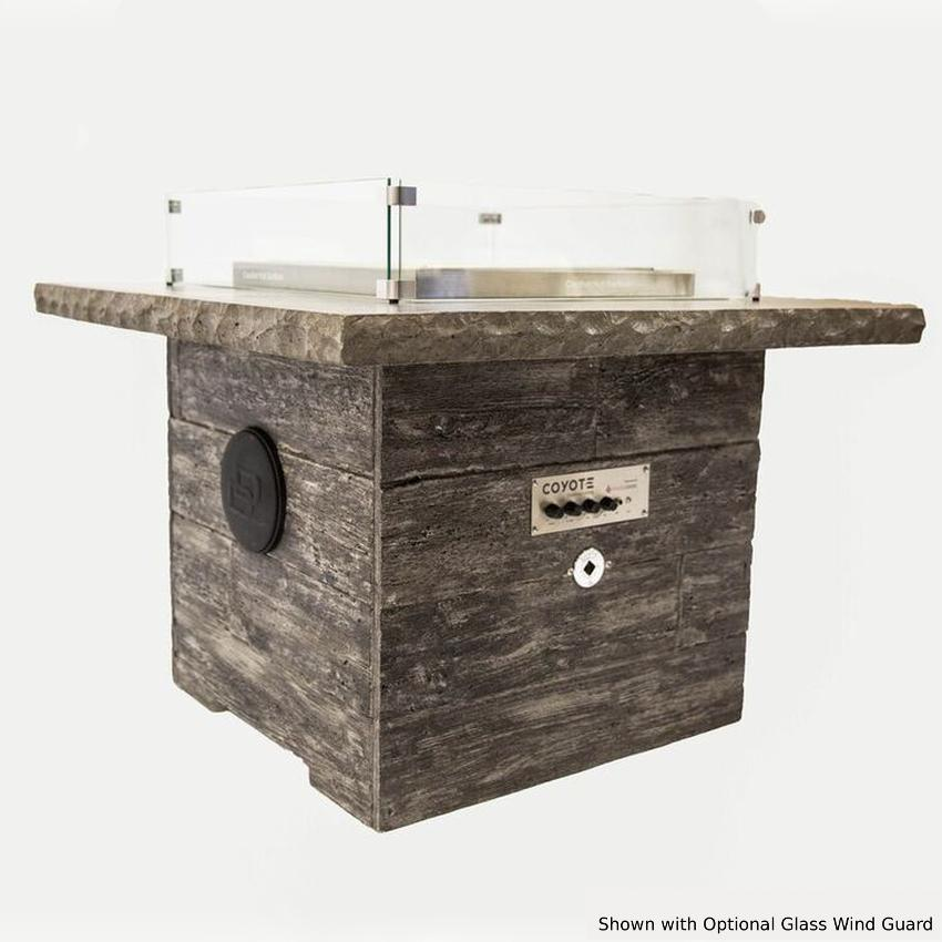 Blazing Beats Dancing Flame 38 Fire Table W/ Bluetooth Audio - Heritage - Natural Gas - COY-HERT-BB-NG
